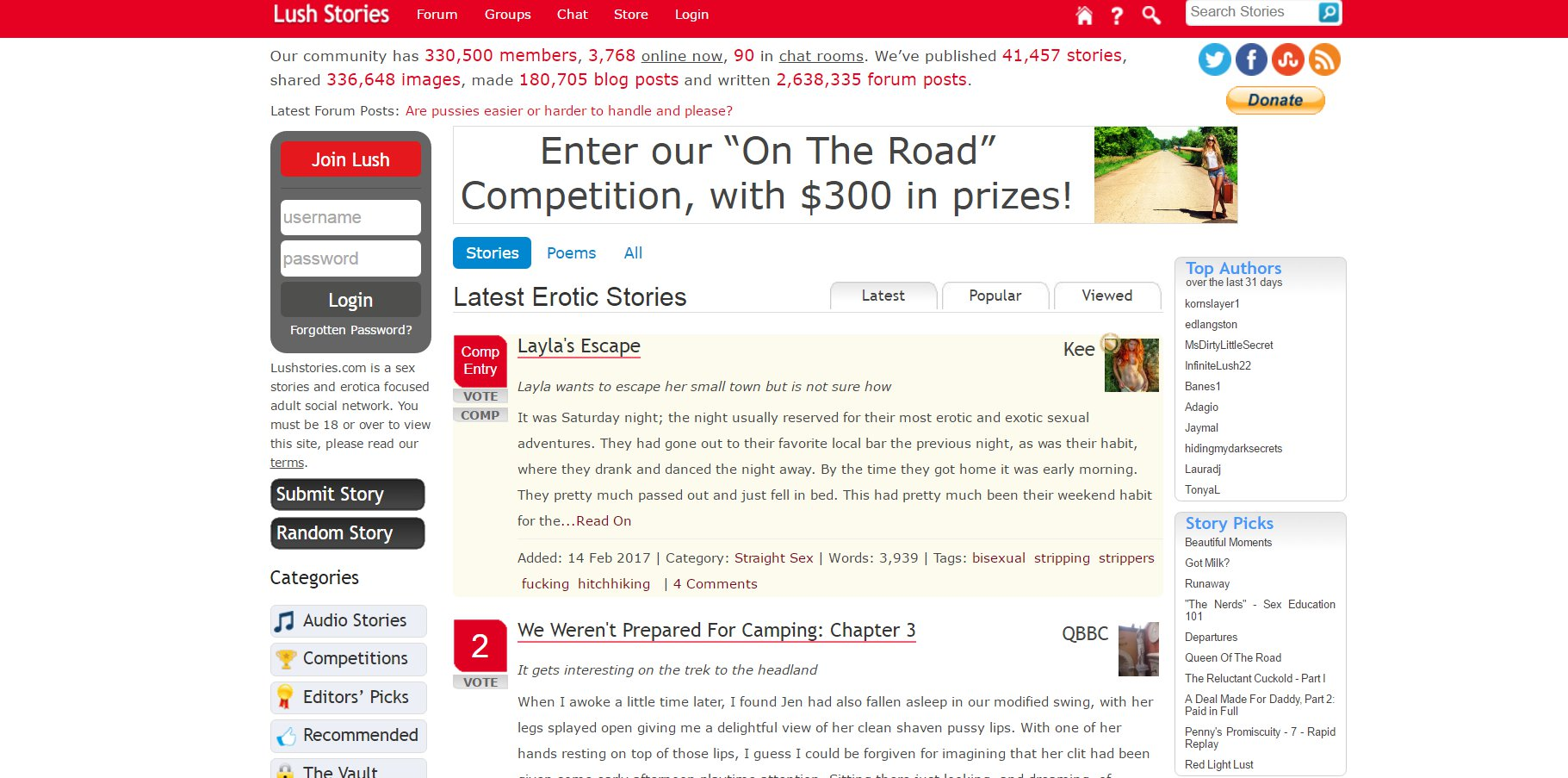 Lushstories.com